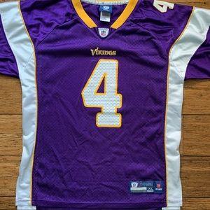 Minnesota Vikings Favre 4 Football Jersey